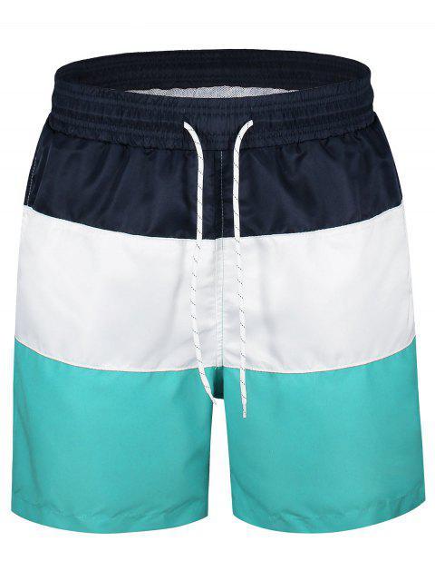 Pantalones cortos con paneles de colores - Multicolor L Mobile