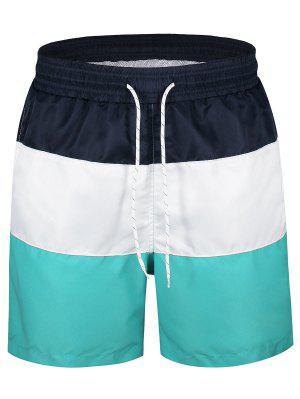 Pantalones cortos con paneles de colores