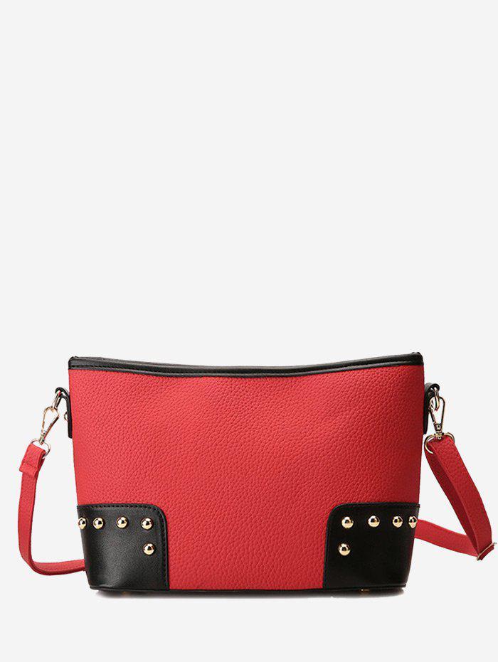 Minimalist Studs Crossbody Bag