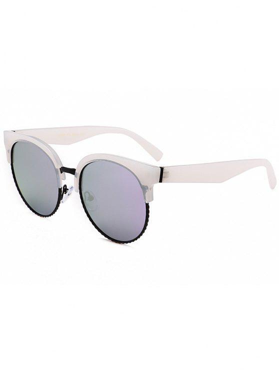 فريدة من نوعها جولة دائرة القط العين النظارات الشمسية - أرجواني