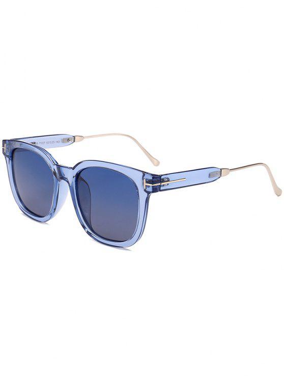 نظارات شمسية بإطار بسيط - أزرق