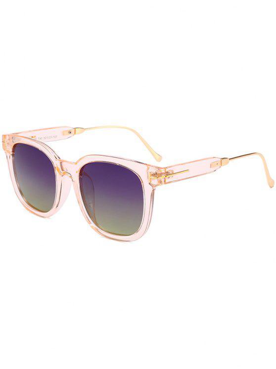 نظارات شمسية بإطار بسيط - أخضر