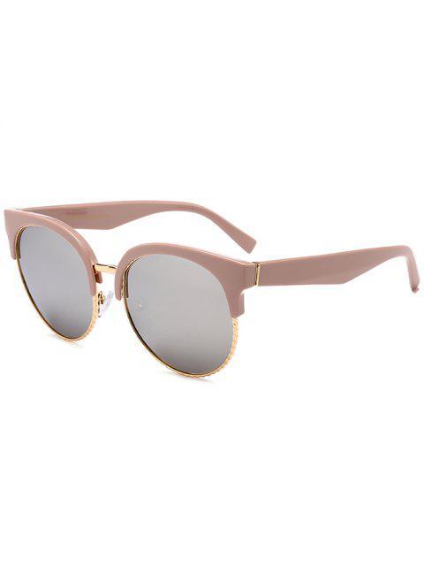 Einzigartige Runde Circle Cat Eye Sonnenbrille - Quecksilber Linse  Mobile