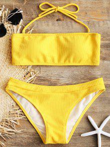 f20ed408d5 ZAFUL   Swimwear  . Bikinis. SKU  239065406. Halter Ribbed Texture Bikini  Set  Halter Ribbed Texture Bikini Set ...