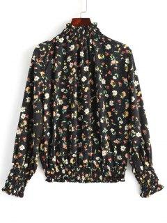 Gerüschte Blusen Mit Rüschen - Blumen L