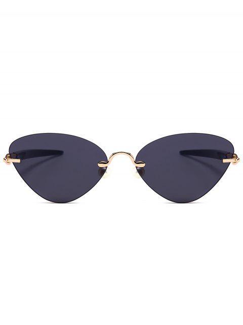 Gafas de sol de ojo de gato sin montura - Negro  Mobile