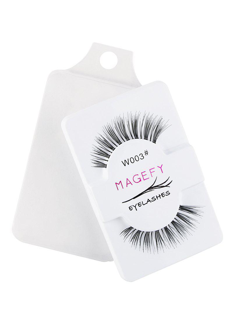 1 Pair 3D Natural Fake Eyelashes 254197301