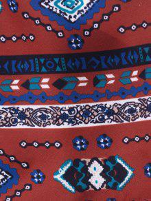 De Vino Estampado Ganchillo 243;n S Cortos Piezas Rojo De Dos De Inserci Pantalones gYvqp0R4x