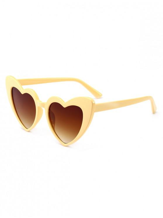 buy Heart Shape Sunglasses - CLEMENTINE