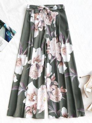 Gütel Blumen Breites Bein Hose