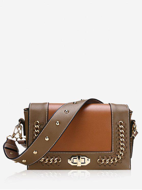 حقيبة كروسبودي من سلسلة ويبستيتش - بنى