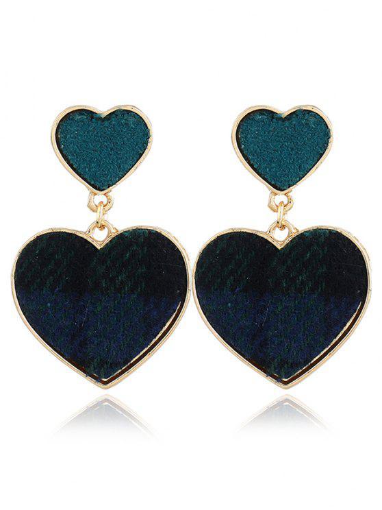 Boucles d'oreilles romantiques chérie - Vert