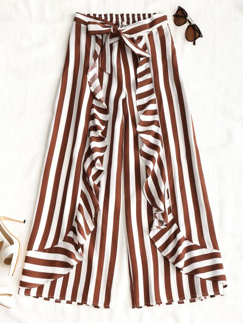 Pantalones de pierna ancha Ruffles Stripes - Raya XL Mobile