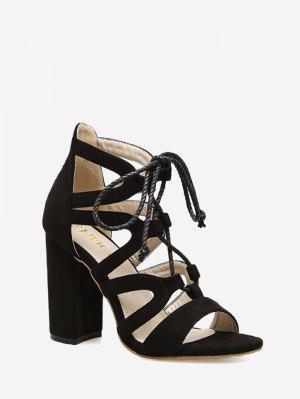 Strappy Block Heel Sandals