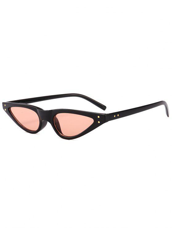 shop Anti-fatigue Full Frame Sun Shades Sunglasses - LIGHT PINK