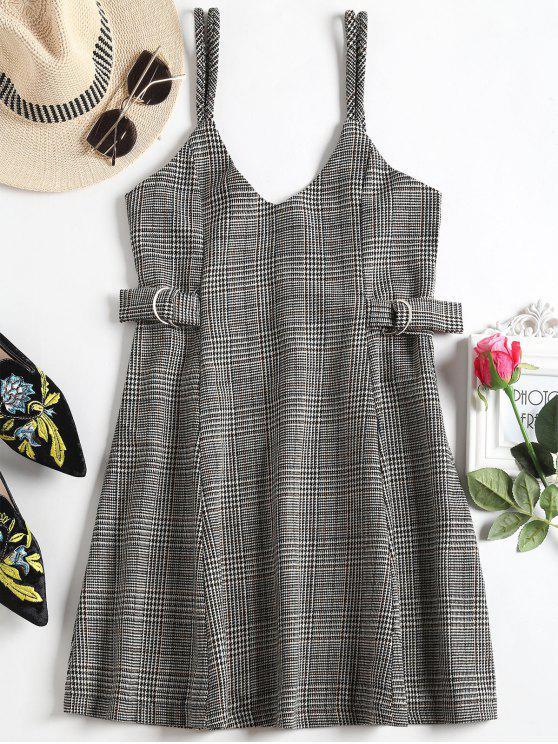 فستان كامي مصغر توهج هوندتوث - HOUNDSTOOTH S