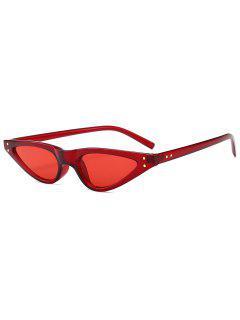 Anti-fatigue Full Frame Sun Shades Sunglasses - Red
