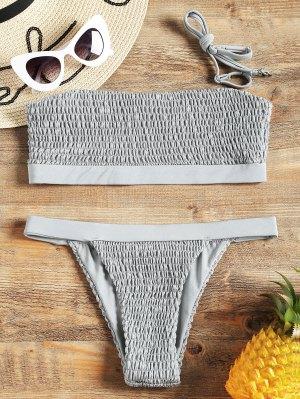 Smocked Bikini Set - Frost S
