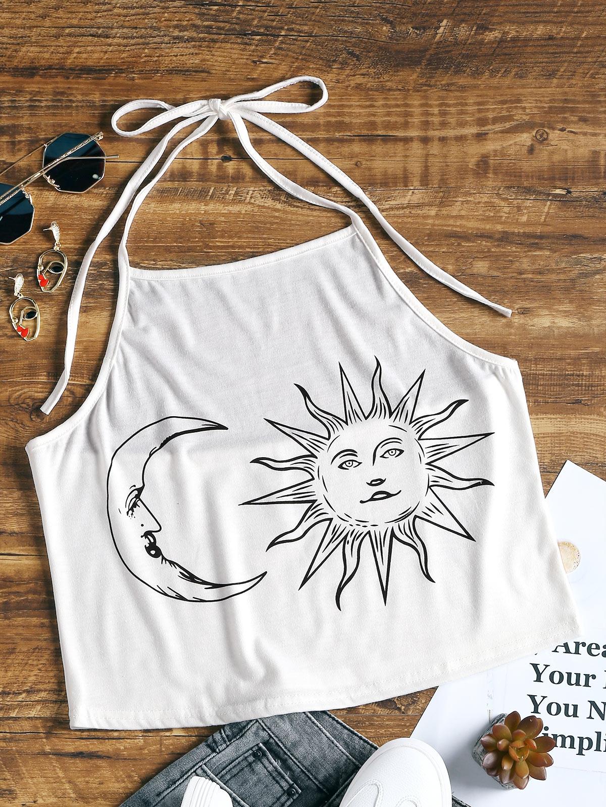 Halter Sun and Moon Pr