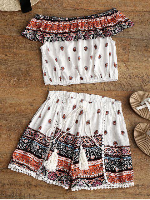 Pantalones y pantalones cortos Flounce Tribal - Multi XL Mobile
