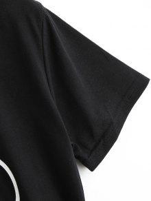 Gr Negro Los 225;ficos Linda Camiseta De De Los 2xl Vidrios Ct7H7wq