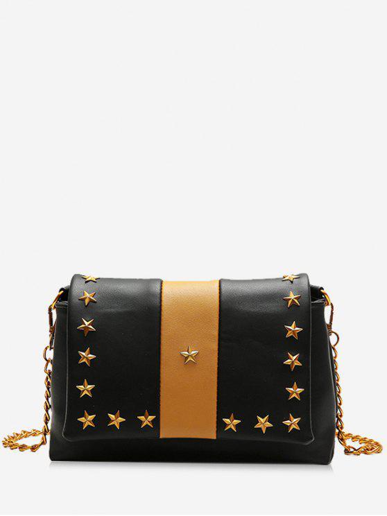 حقيبة كروس بودي من الخلف - أسود