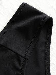 Negro Bandeau 4xl Conjunto De Bikini Grande Talla w7TzA61q