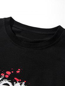 Camiseta Hallowmas Graphic Corta Manga Xl Negro De qrOTSWHqw