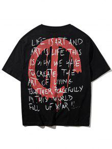 Rock Camiseta 2xl Streetwear Streetwear Camiseta Negro q8wxfgtPd
