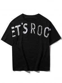 Rock 2xl Streetwear Camiseta Streetwear Camiseta Negro qwYxpYct7P