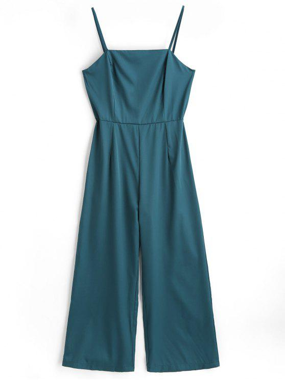 Cami Overall Mit hoher Taille - Meergrün S