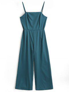 Cami Overall Mit Hoher Taille - Meergrün M