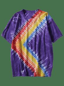 Camiseta Tie 250;rpura P Rainbow 3xl Dyed REvZRBq4