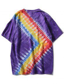 3xl P Camiseta Dyed 250;rpura Tie Rainbow qHavFxw7