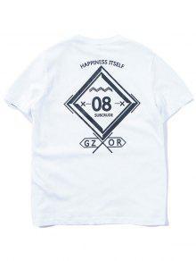 Estampado Camiseta Con Camiseta Informal Informal Gr 0SIcPxwvq