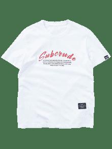 Con Camiseta Estampado Gr Camiseta Informal Informal wSt0Y