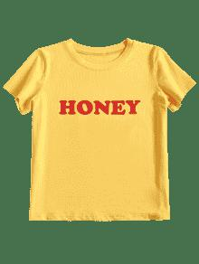 Zaful yellow tshirt logo