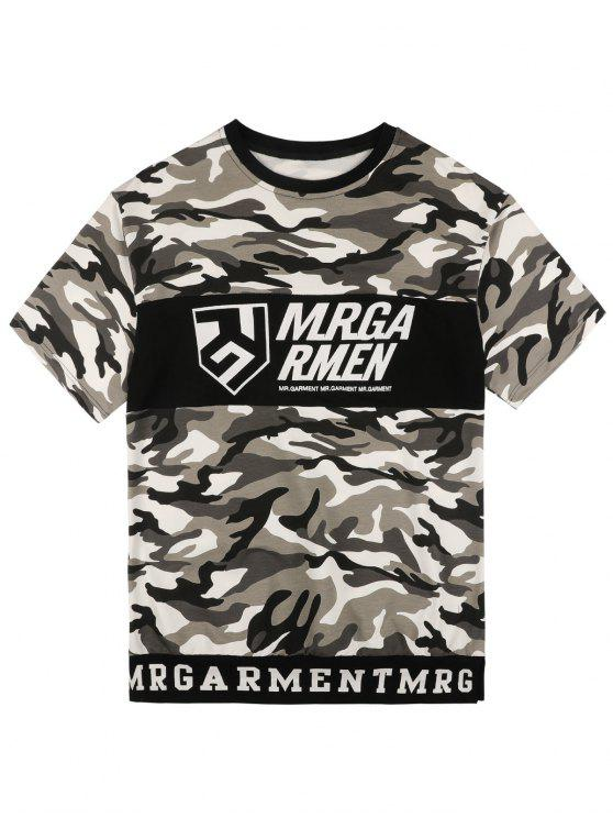 hot Graphic Camo Tee - CAMOUFLAGE L