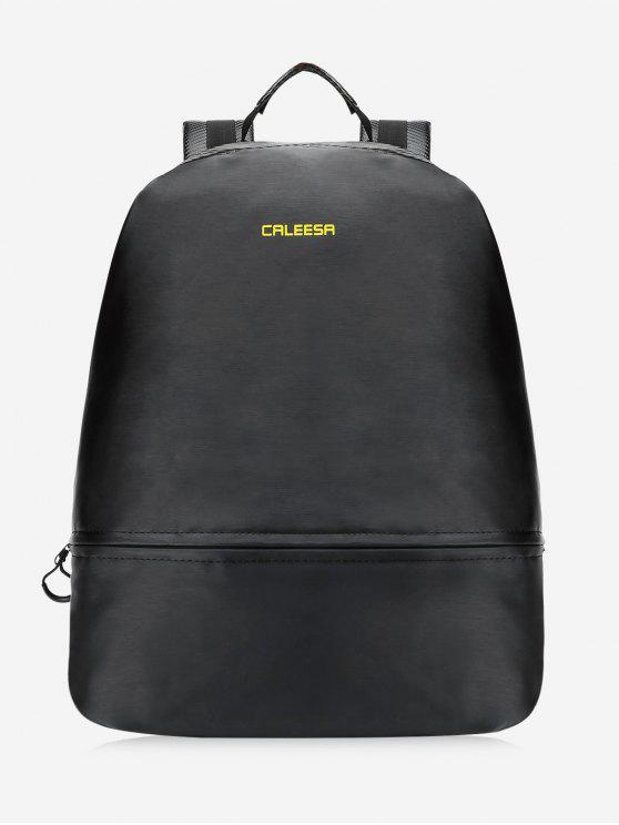 affordable All Purpose Sport School Backpack - BLACK
