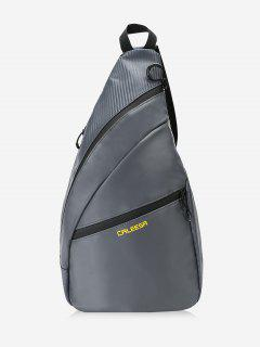 Hiking Camping Travel Chest Bag - Deep Gray