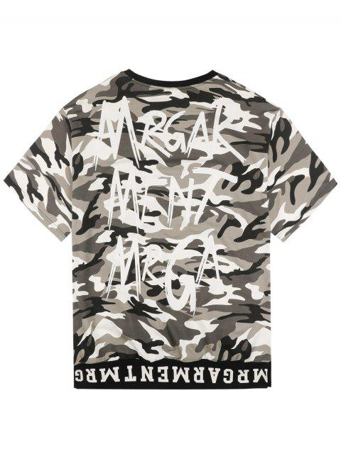 online Graphic Camo Tee - CAMOUFLAGE 2XL Mobile