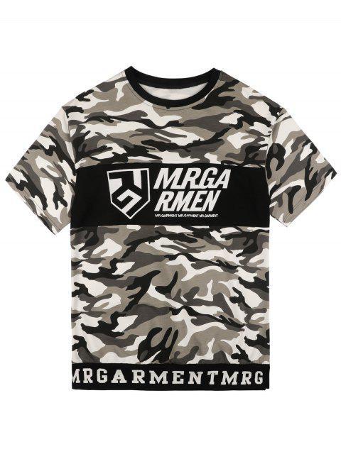 T-shirt à Motif Camouflage - Camouflage M Mobile