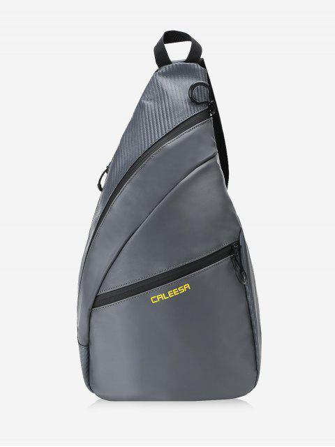 Randonnée Camping Travel Chest Bag - gris foncé  Mobile
