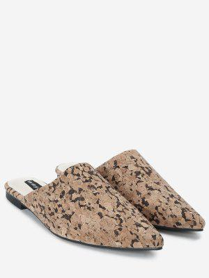 Slip On Spitzschuh Loafers
