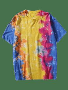 Corta Con Manga Lazo Camiseta De Te 3xl ida FxqHXYE