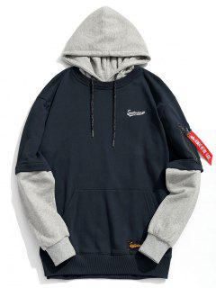 Pouch Pocket Pullover Hoodie Men Clothes - Cadetblue M