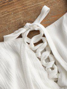L Camis Y Cordones Cordones Blanco Con Con 11FpYU