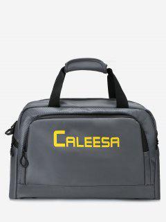 Multi Usage Computer Handbag With Shoulder Strap - Deep Gray