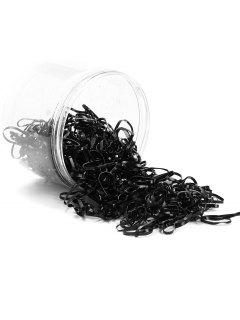 500 Pieces Hair Holder Elastic Rubber Bands - Pattern A
