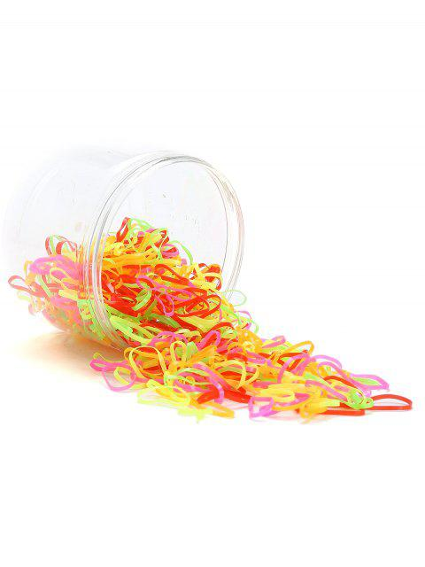 trendy 500 Pieces Hair Holder Elastic Rubber Bands -   Mobile